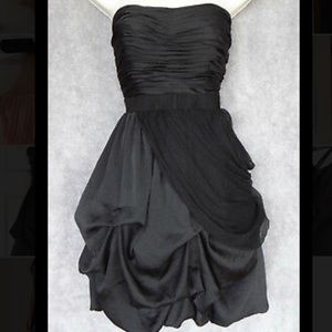 Bebe Strapless Gathered Dress